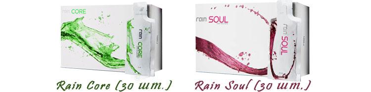 Купить гели (смузи) Rain Core и Rain Soul
