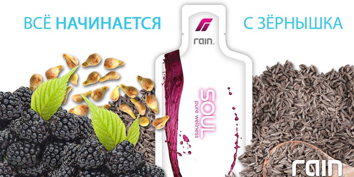 Продукты Rain International. Rain Soul