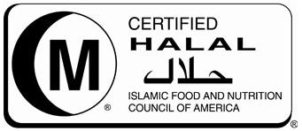 infanca halal certificate for rain core