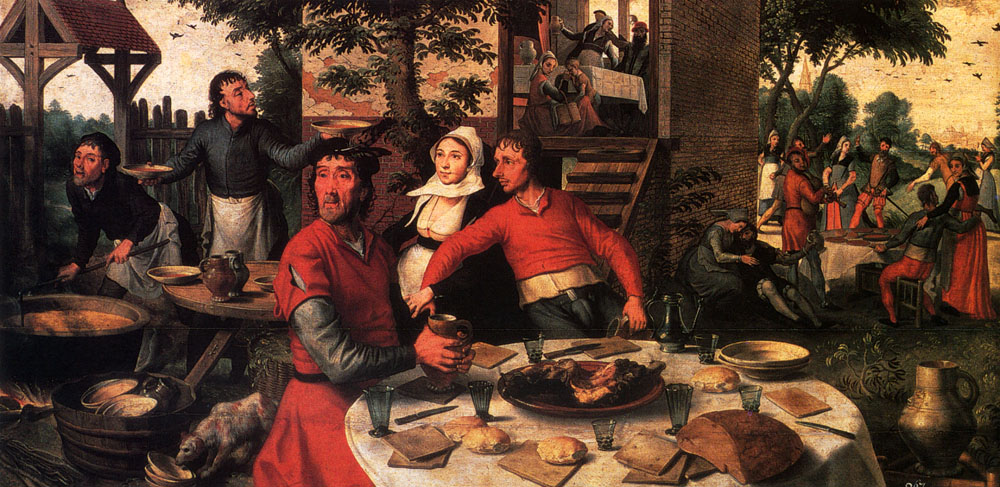 peasants_feast-Pieter-Aertsen
