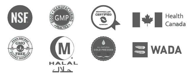 Сертификаты продукции Rain