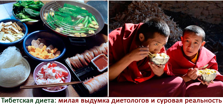 Тибетская диета
