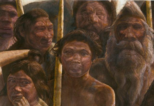 Реконструкция денисовского человека (Denisovan)