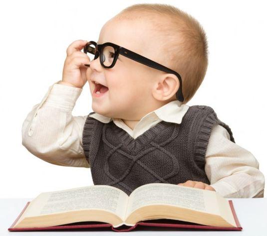 Ребёнок учёный