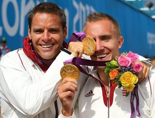 Олимпийский чемпион Кёкень Роланд принимает Rain Soul