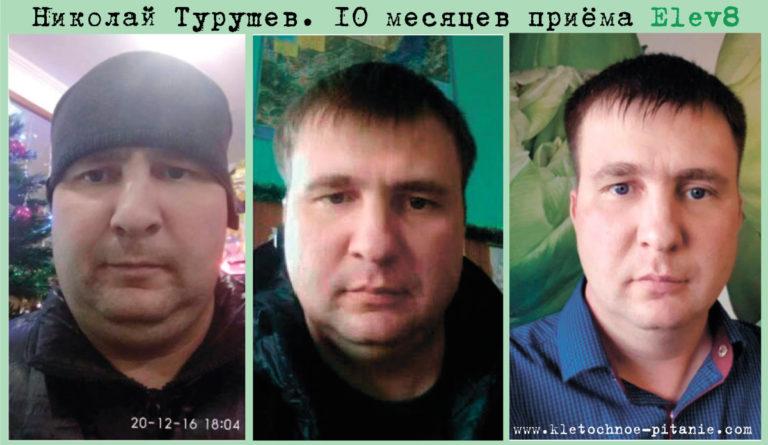 Николай Турушев. Снижение веса с Elev8 - до и после