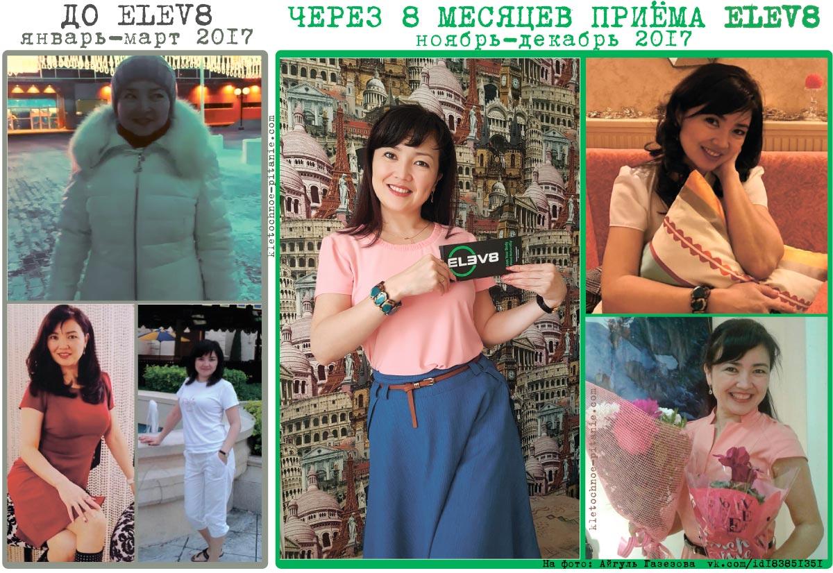 Похудение с Elev8 фото до и после