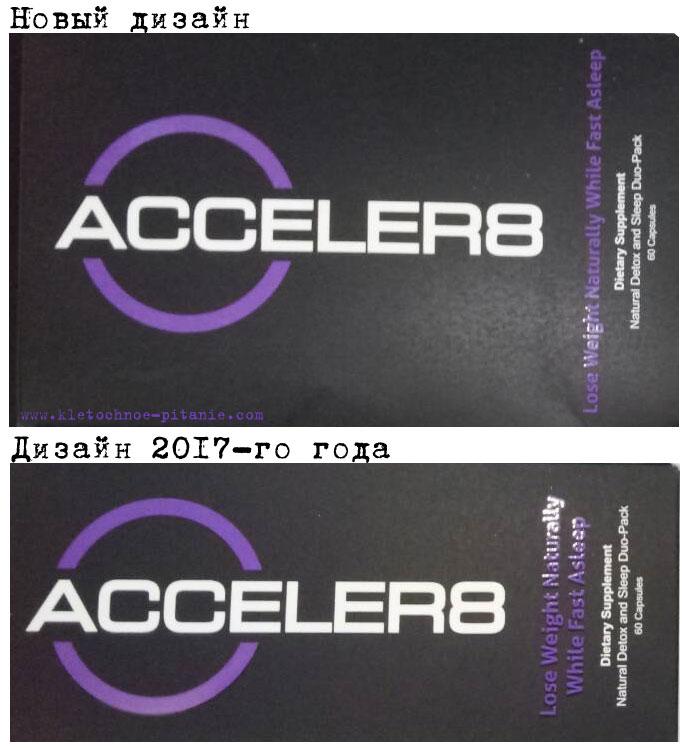 как выглядит оригинал Acceler8