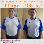 Похедение с Элев8 и Акселер8 - фото до и после
