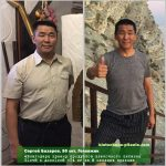 Результат похудения с Elev8 и Acceler8