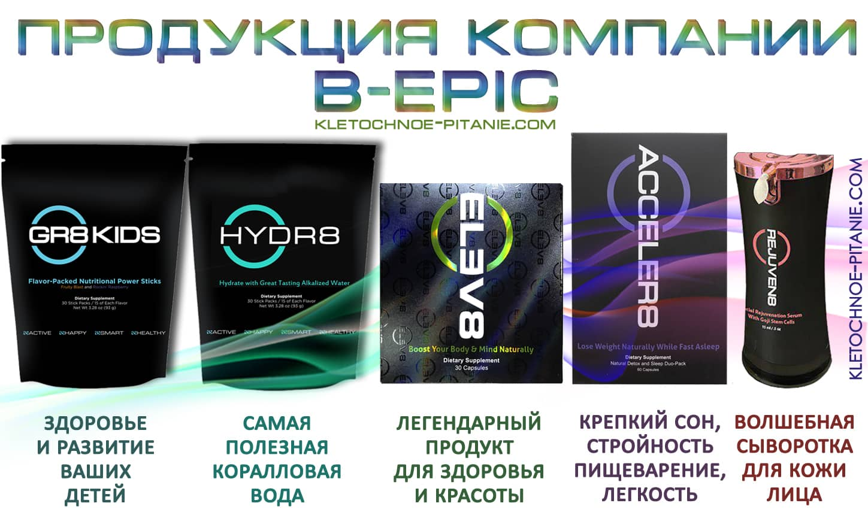 Продукты компании BEpic