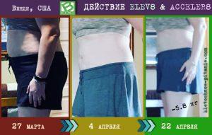 похудение с Элев8. результат из США