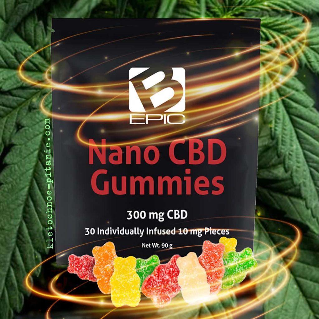bepic nano cbd gummies (целебные конфеты из медицинского каннабиса)