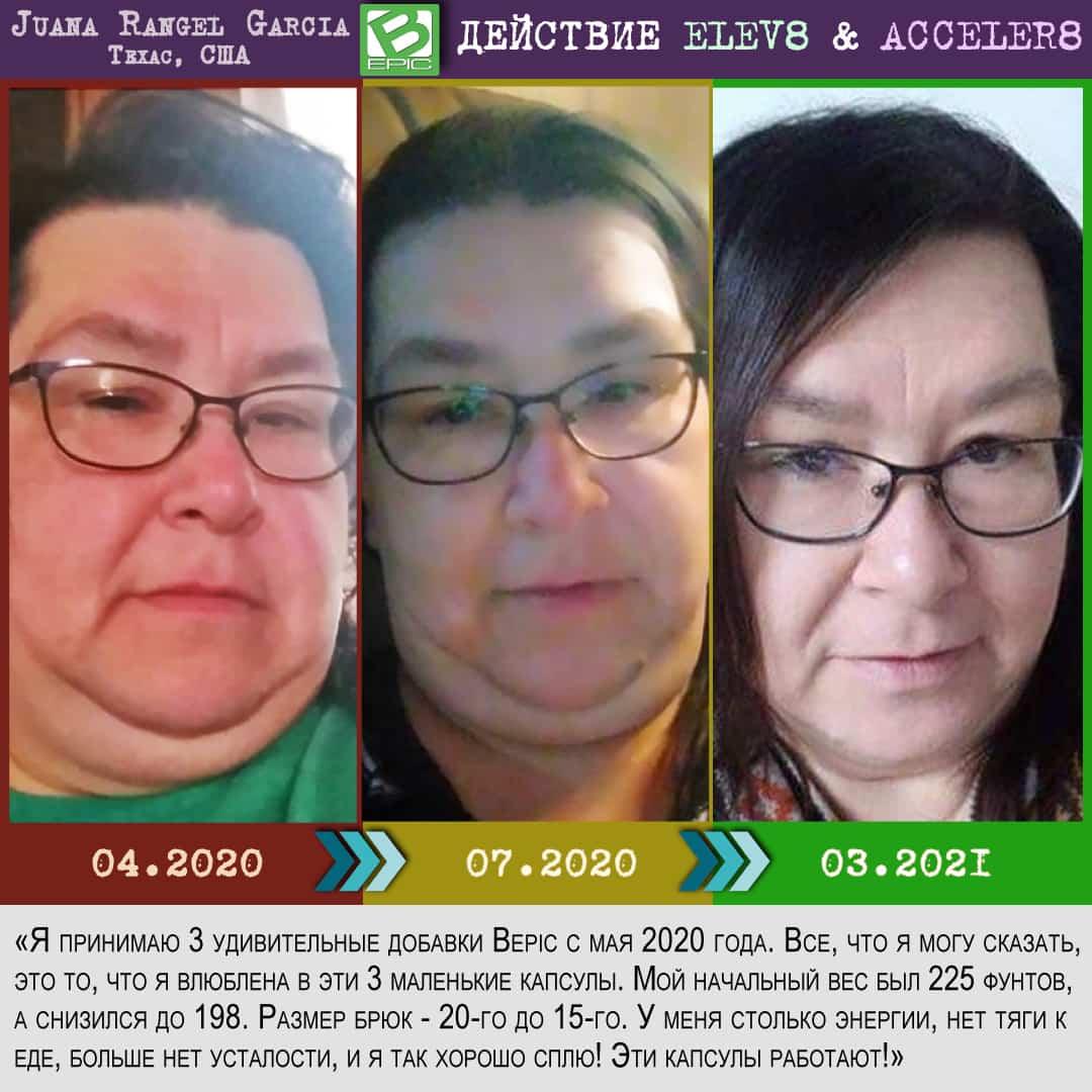 Капсулы bepic  для похудения лица (фото до и после)