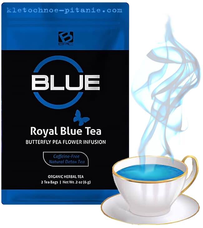 Синий чай компании Бепик