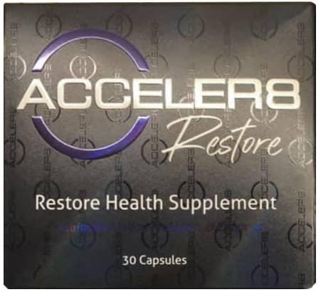 Как выглядит упаковка Acceler8 Restore от B-Epic